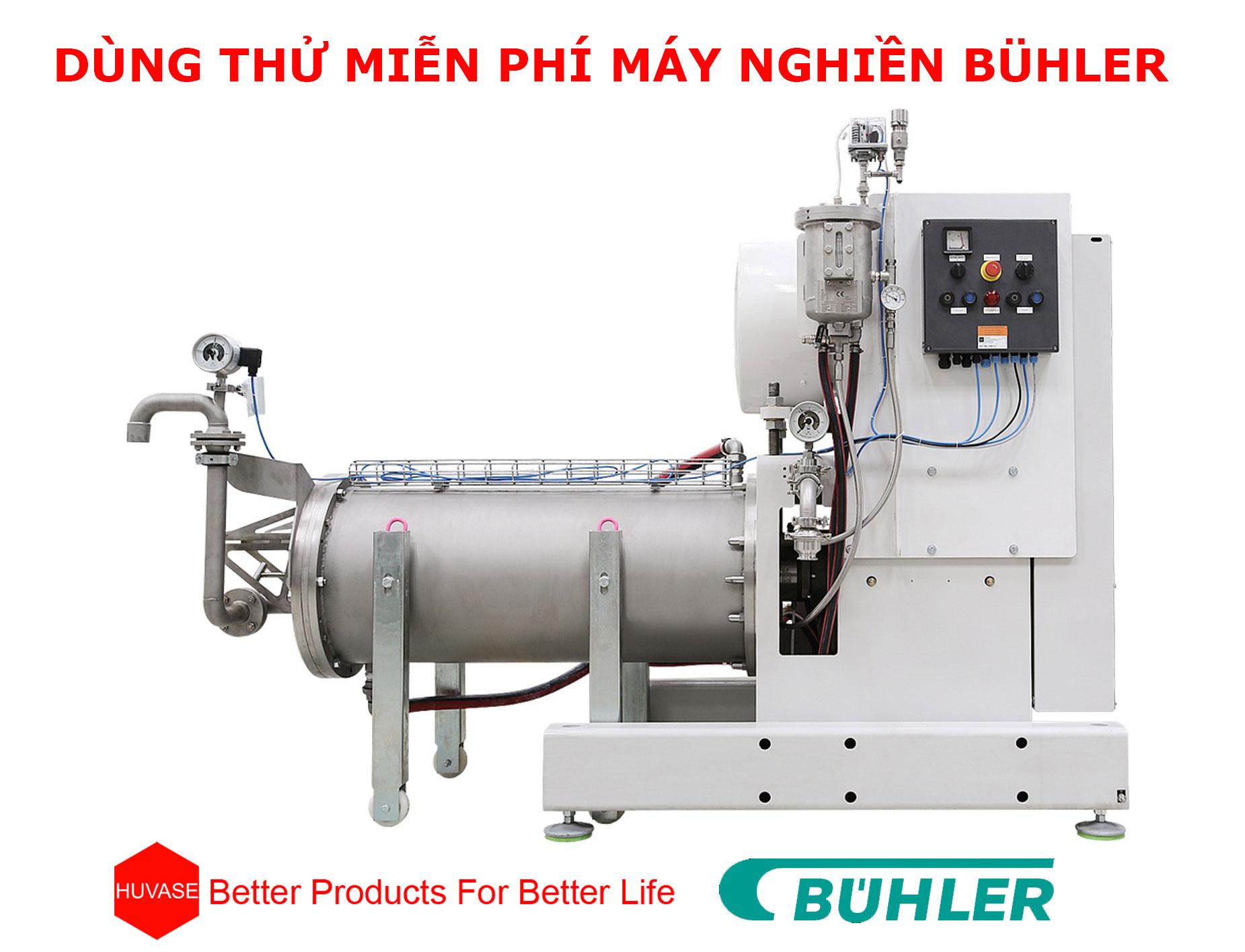 Đăng ký dùng thử miễn phí lên đến 30 ngày cho dòng máy nghiền ngang tốt nhất thế giới - Bühler
