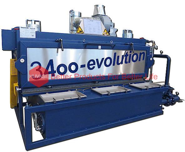 Máy rửa bộ phận máy in TYPE 3400