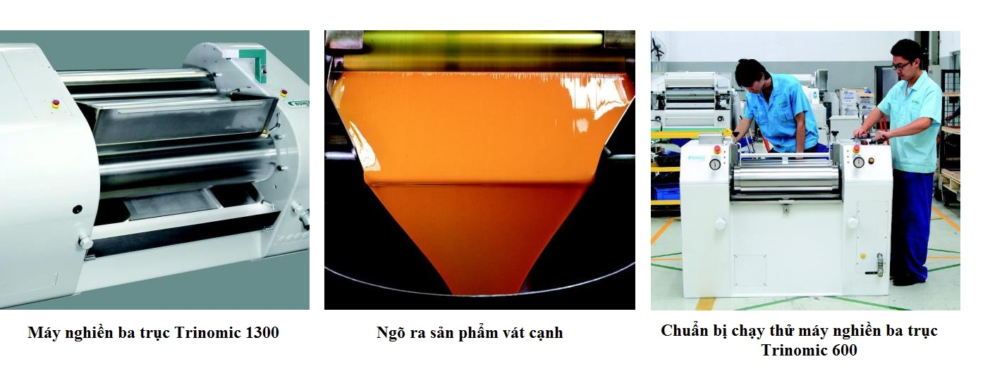 Máy nghiền ba trục thủy lực - Buhler (Trinomic)