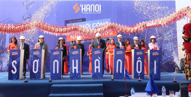 Construction of new S'Hanoi paint factory underway