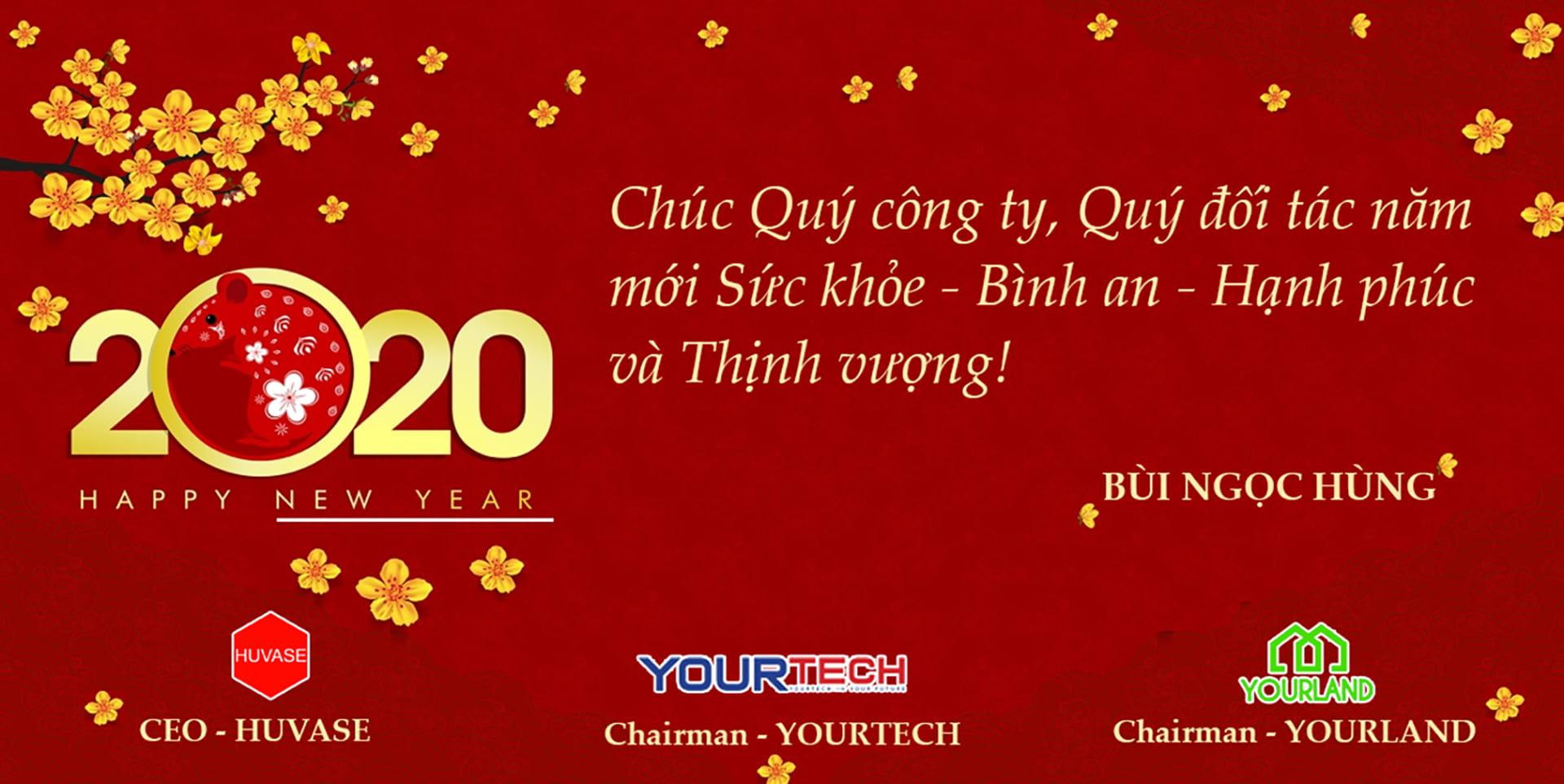 Hùng Vân chúc mừng năm mới
