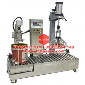 Emulsion Paint filling machine With capping machine V5 30CY