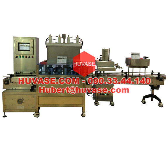 Four Heads Automatic Filling Machine with Capping V5 10D4Q