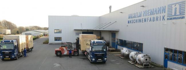 Jotun  đầu tư thêm 36 máy nghiền, máy khuấy NIEMANN cho nhà máy mới