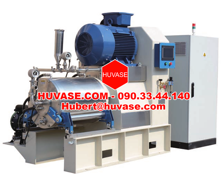 Series high efficiency nano bead mill